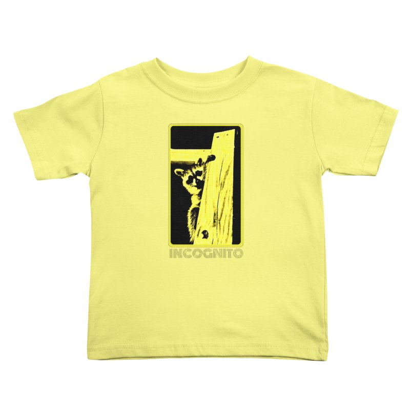 INCOGNITO Kids Toddler T-Shirt by 7thSin Apparel