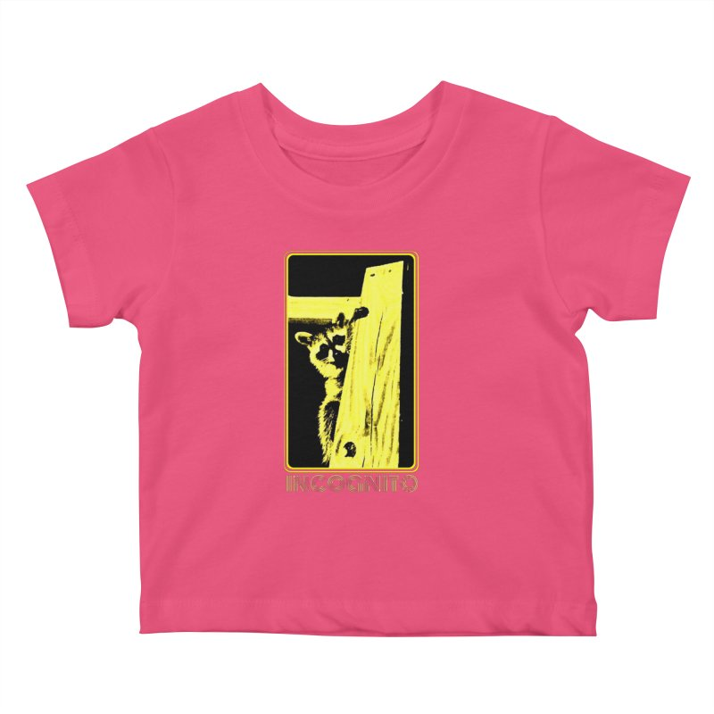 INCOGNITO Kids Baby T-Shirt by 7thSin Apparel