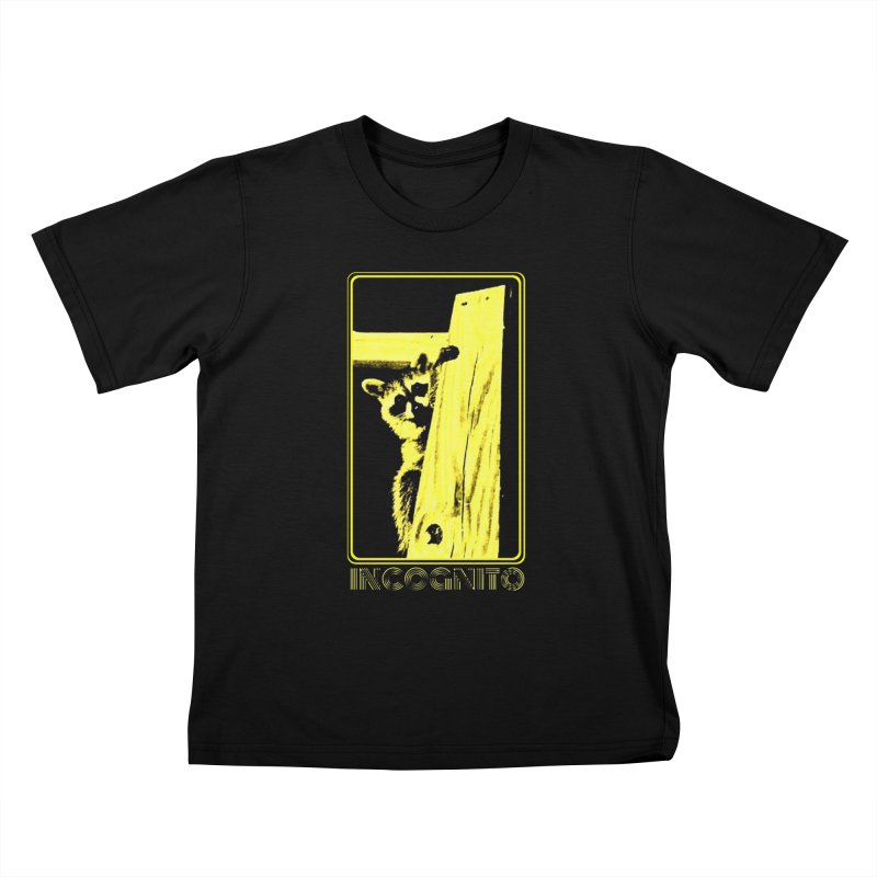 INCOGNITO Kids T-Shirt by 7thSin Apparel