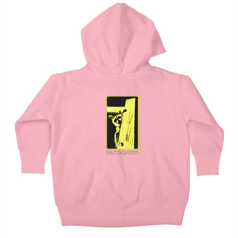 INCOGNITO Kids Baby Zip-Up Hoody by 7thSin Apparel