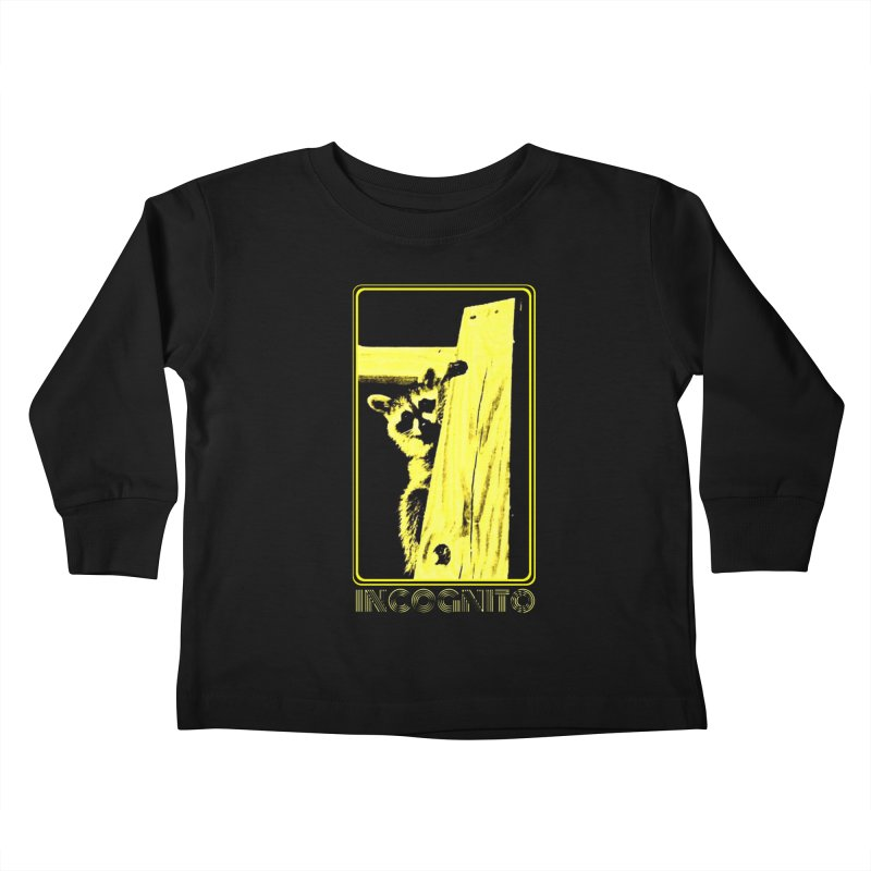 INCOGNITO Kids Toddler Longsleeve T-Shirt by 7thSin Apparel
