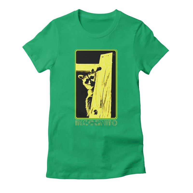 INCOGNITO Women's Fitted T-Shirt by 7thSin Apparel