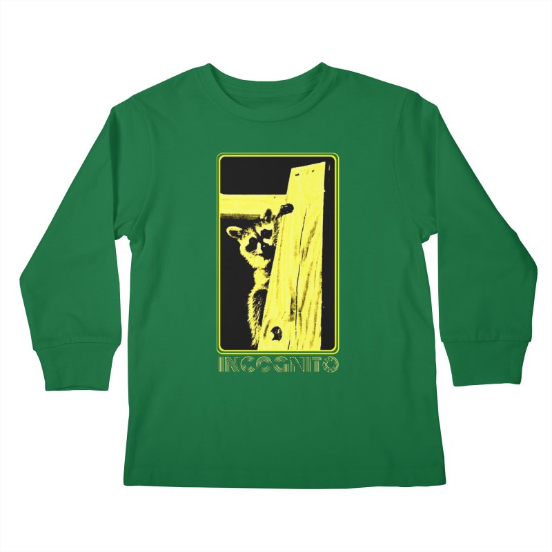 INCOGNITO Kids Longsleeve T-Shirt by 7thSin Apparel