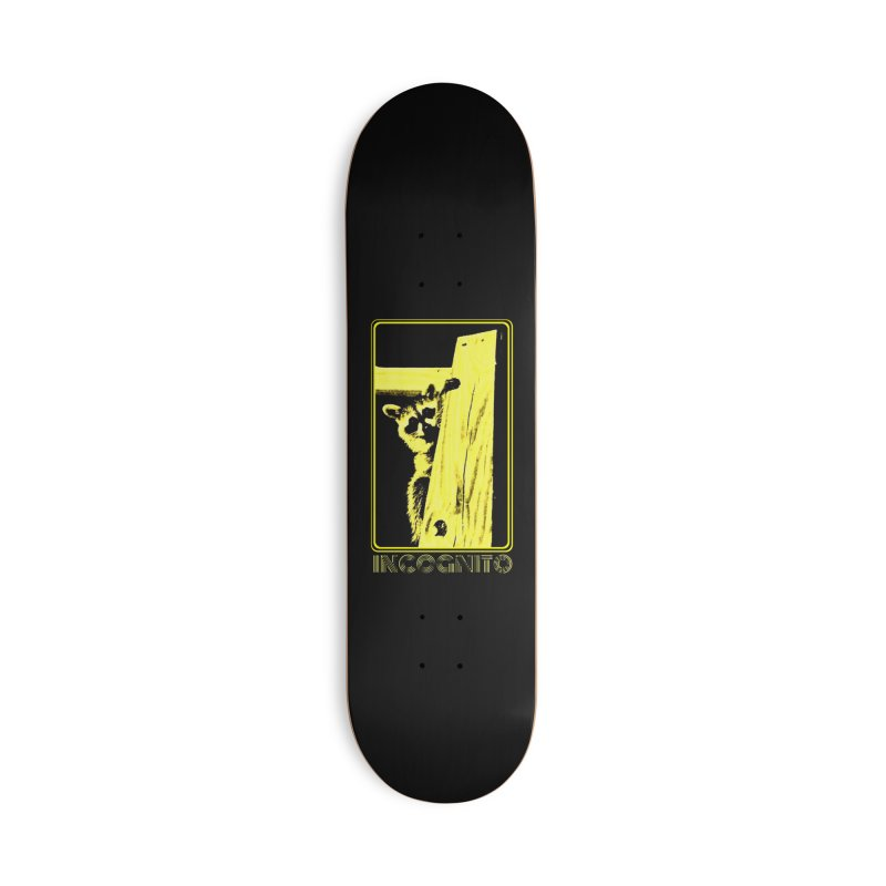 INCOGNITO Accessories Deck Only Skateboard by 7thSin Apparel