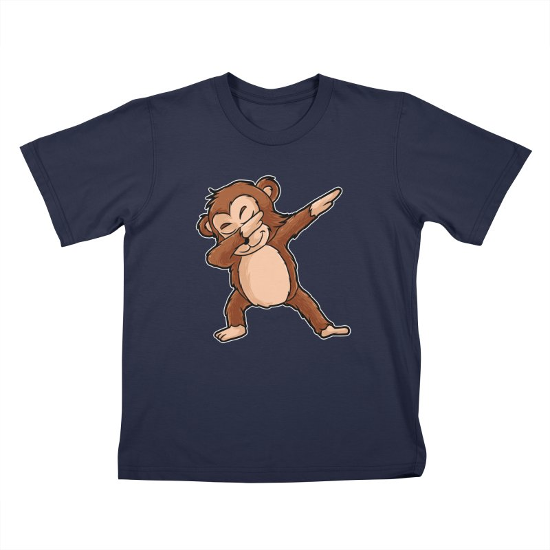 5eb32330 Cute Dabbing Monkey Shirt Funny Monkey Dab Tshirt Gift Kids T-Shirt by best  funcle
