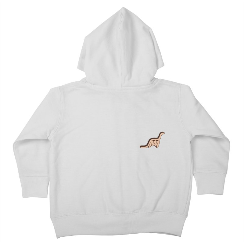 Dino Snake Kids Toddler Zip-Up Hoody by Lukeramsey's Artist Shop