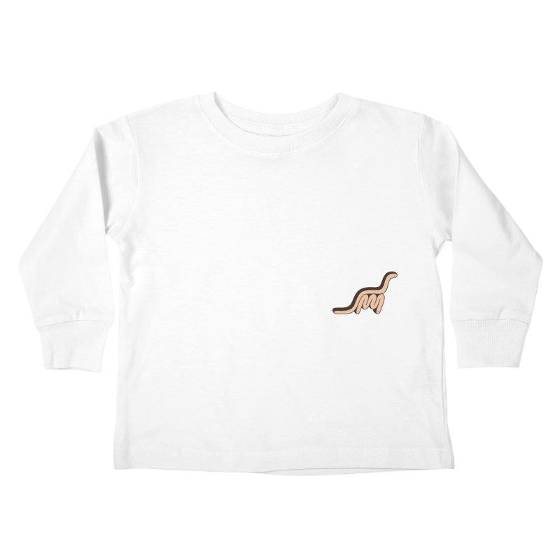 Dino Snake Kids Toddler Longsleeve T-Shirt by Lukeramsey's Artist Shop