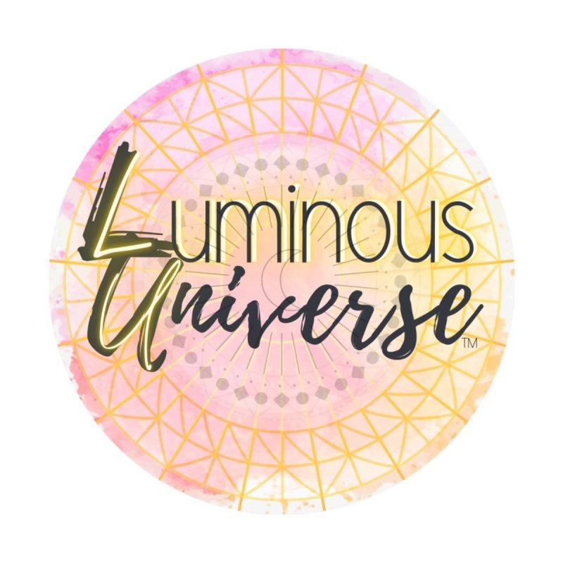 Luminous Universe Logo - Circle Accessories Sticker by Luminous Universe Artist Shop