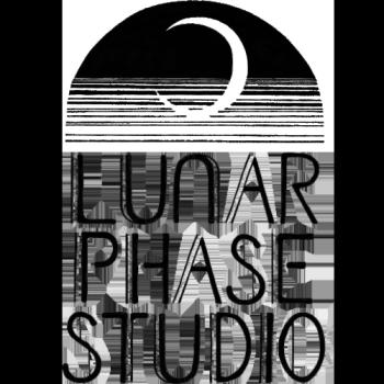 Get Rad Stuff and Support Lunar Phase Studio! We a Logo