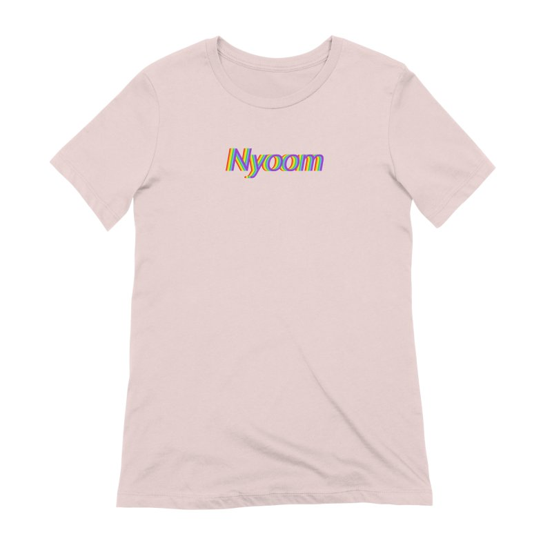 Nyoom Women's Extra Soft T-Shirt by Lupi Art + Illustration