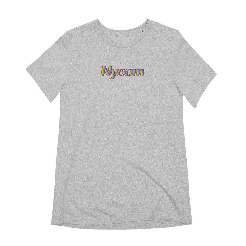 Nyoom Women's Extra Soft T-Shirt by Lupi Art + Illustration