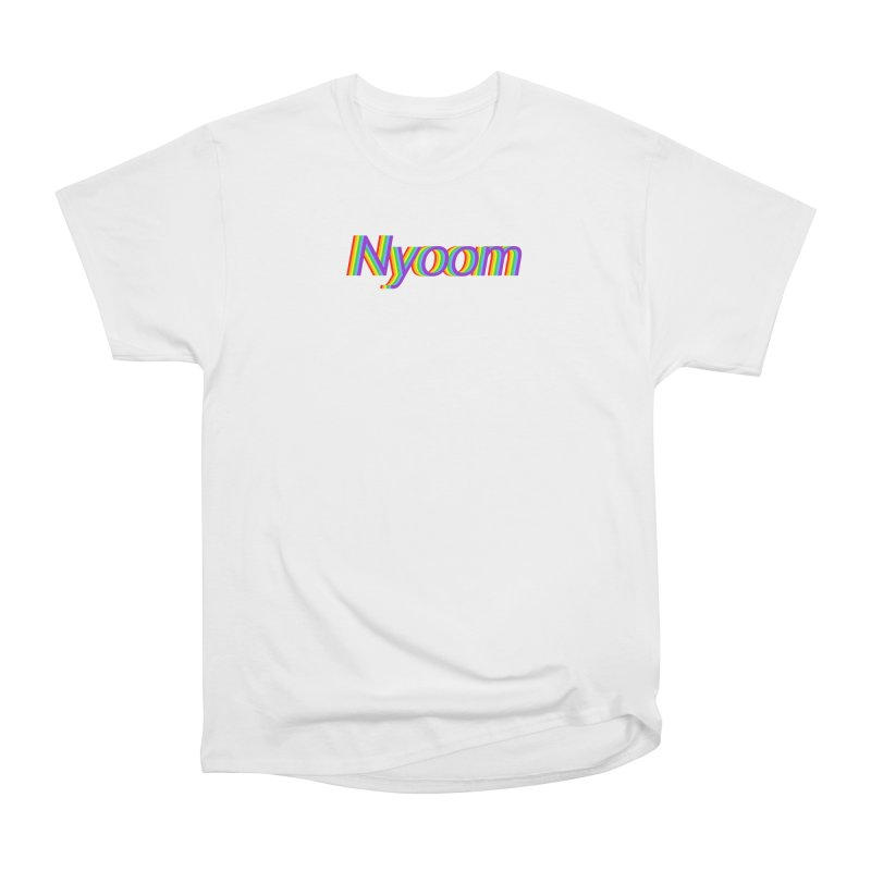 Nyoom Men's Heavyweight T-Shirt by Lupi Art + Illustration