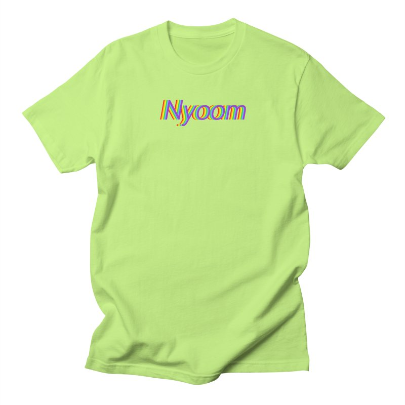 Nyoom Women's Regular Unisex T-Shirt by Lupi Art + Illustration