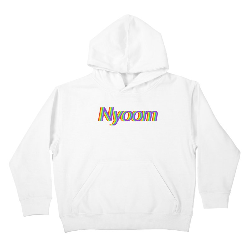 Nyoom Kids Pullover Hoody by Lupi Art + Illustration