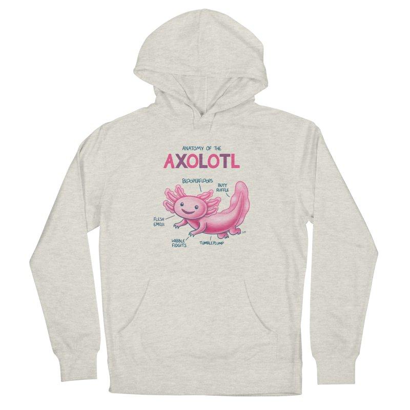 Anatomy of the Axolotl Men's Pullover Hoody by Lupi Art + Illustration