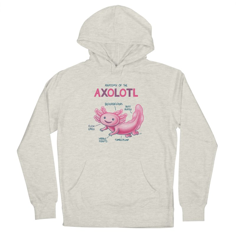 Anatomy of the Axolotl Women's Pullover Hoody by Lupi Art + Illustration