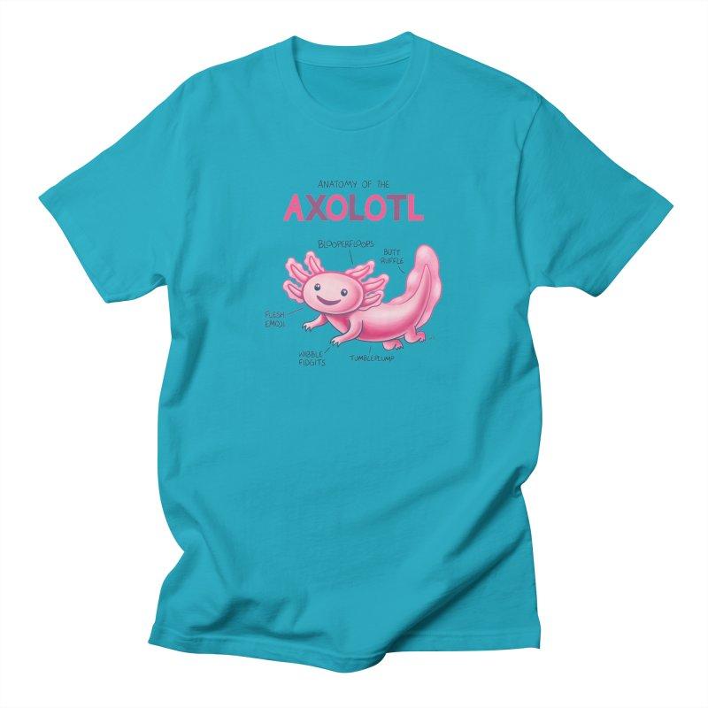 Anatomy of the Axolotl Women's Regular Unisex T-Shirt by Lupi Art + Illustration