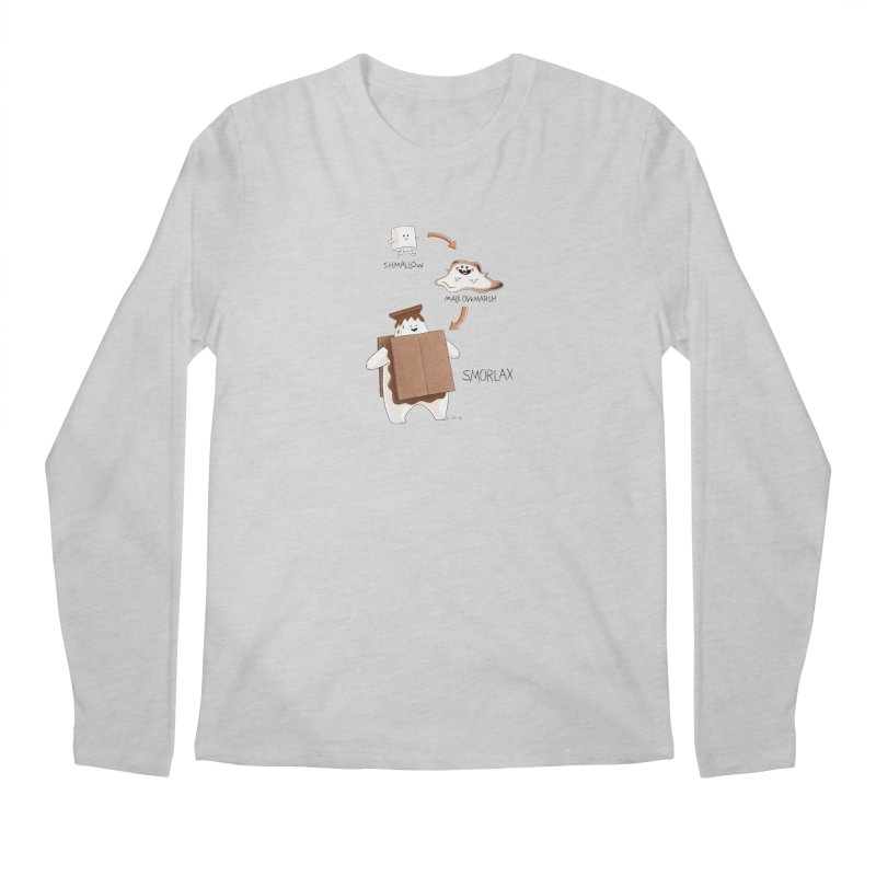 Smorlax Men's Longsleeve T-Shirt by Lupi Art + Illustration