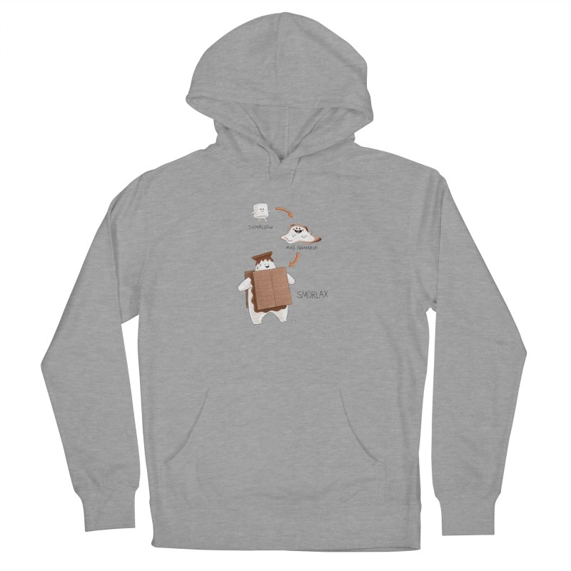 Smorlax Women's French Terry Pullover Hoody by Lupi Art + Illustration