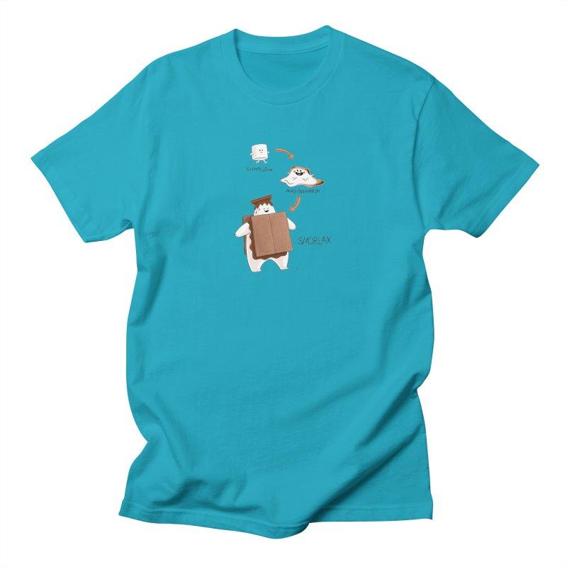 Smorlax Straight Cut T-Shirt by Lupi Art + Illustration