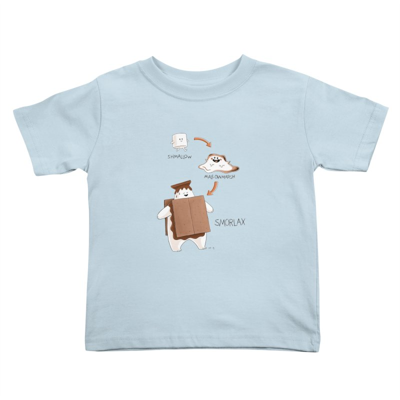 Smorlax Kids Toddler T-Shirt by Lupi Art + Illustration