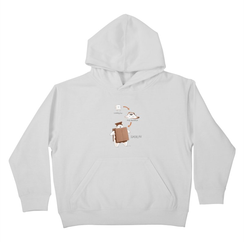 Smorlax Kids Pullover Hoody by Lupi Art + Illustration