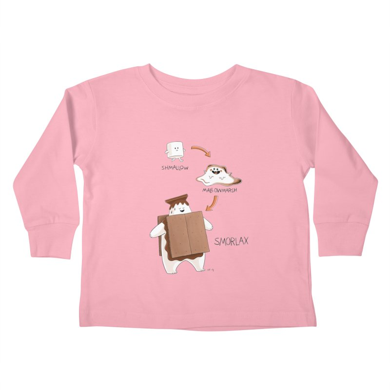 Smorlax Kids Toddler Longsleeve T-Shirt by Lupi Art + Illustration