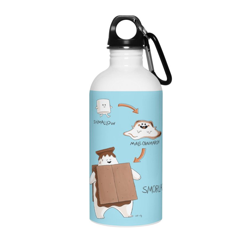 Smorlax Accessories Water Bottle by Lupi Art + Illustration