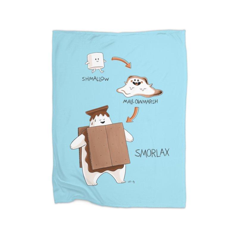 Smorlax Home Blanket by Lupi Art + Illustration