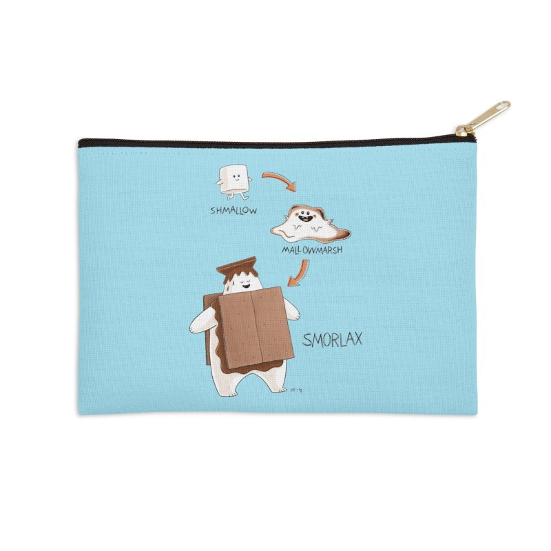 Smorlax Accessories Zip Pouch by Lupi Art + Illustration