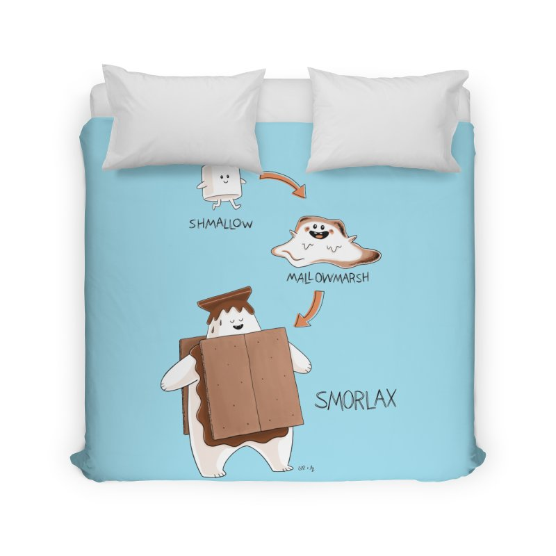 Smorlax Home Duvet by Lupi Art + Illustration