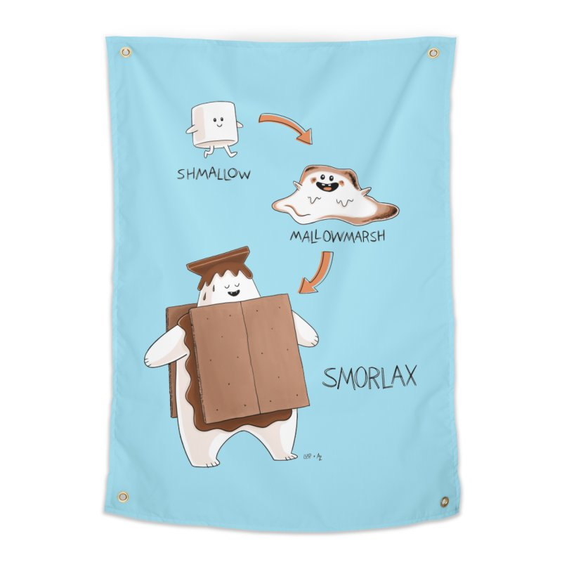 Smorlax Home Tapestry by Lupi Art + Illustration
