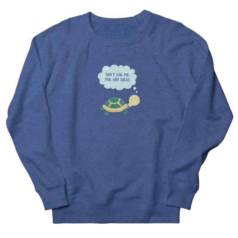 Idea Turtle Women's Sweatshirt by Lupi Art + Illustration