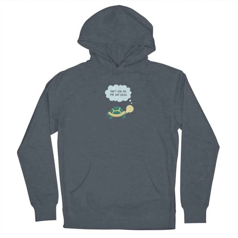 Idea Turtle Women's Pullover Hoody by Lupi Art + Illustration