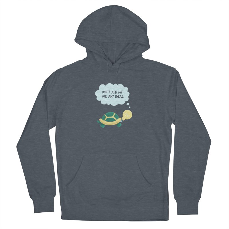 Idea Turtle Women's Pullover Hoody by Lupi Art + Illustration
