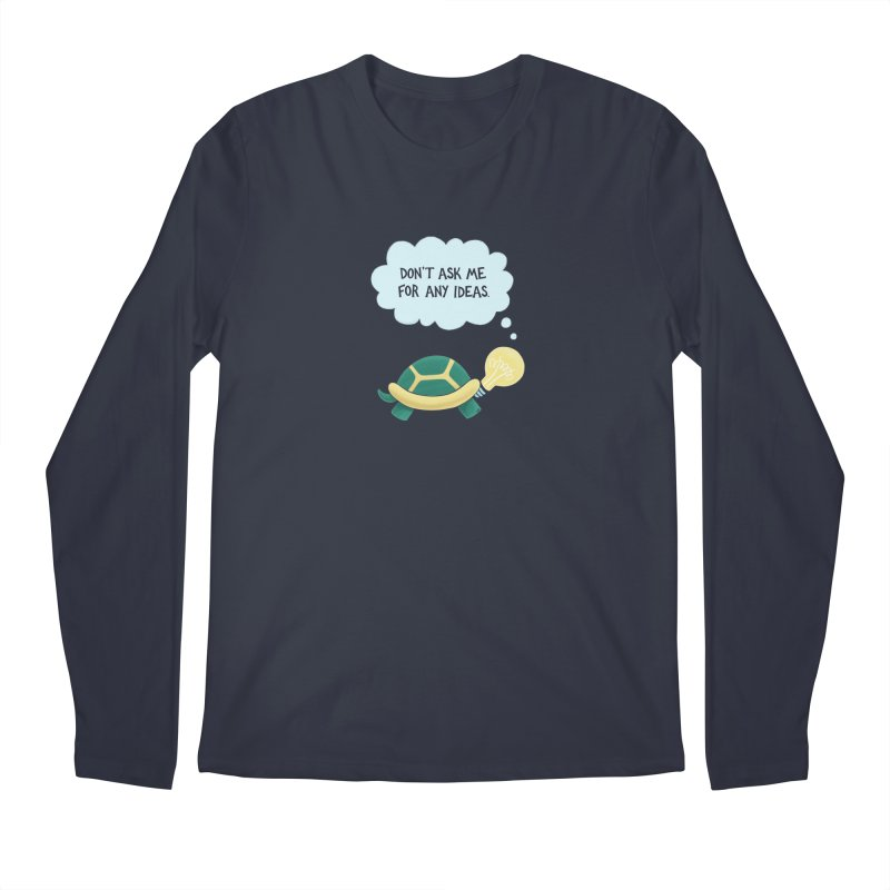 Idea Turtle Men's Longsleeve T-Shirt by Lupi Art + Illustration