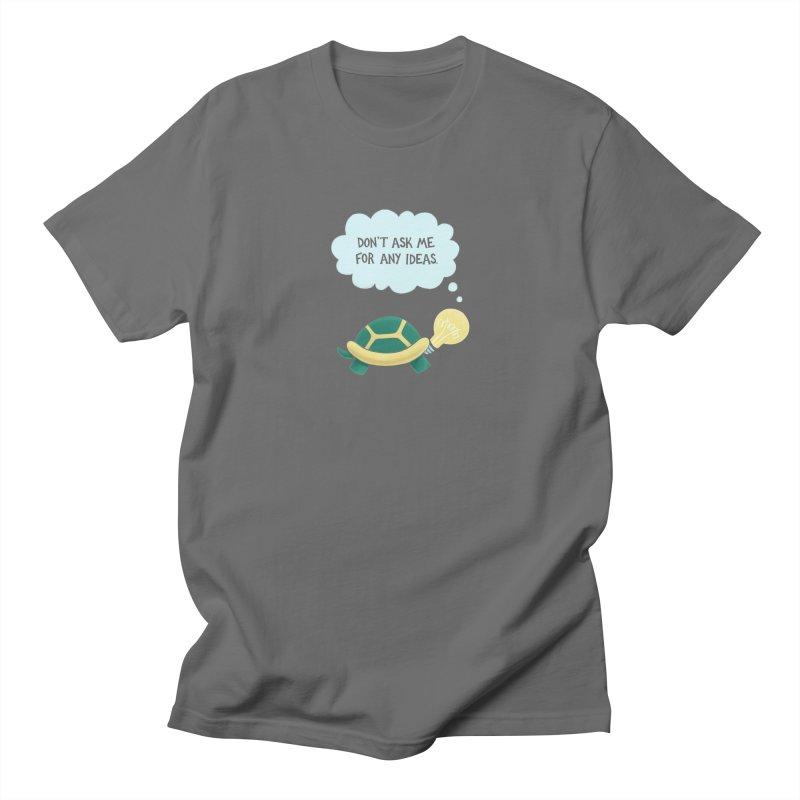 Idea Turtle Straight Cut T-Shirt by Lupi Art + Illustration
