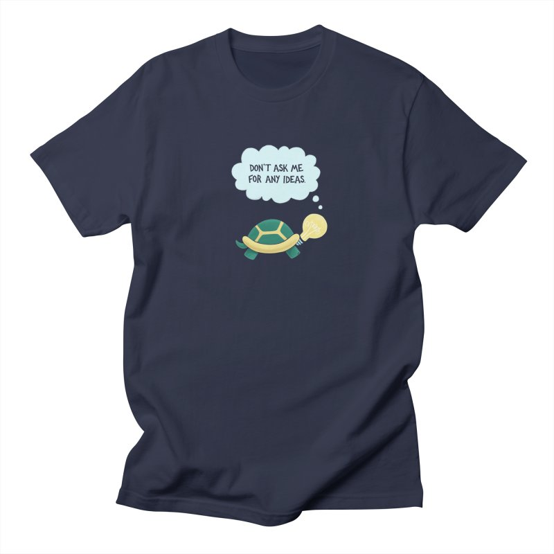 Idea Turtle Men's Regular T-Shirt by Lupi Art + Illustration