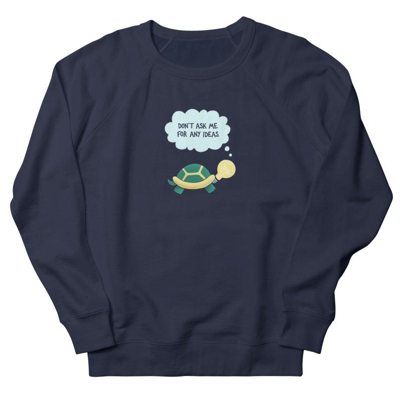 Idea Turtle Women's French Terry Sweatshirt by Lupi Art + Illustration