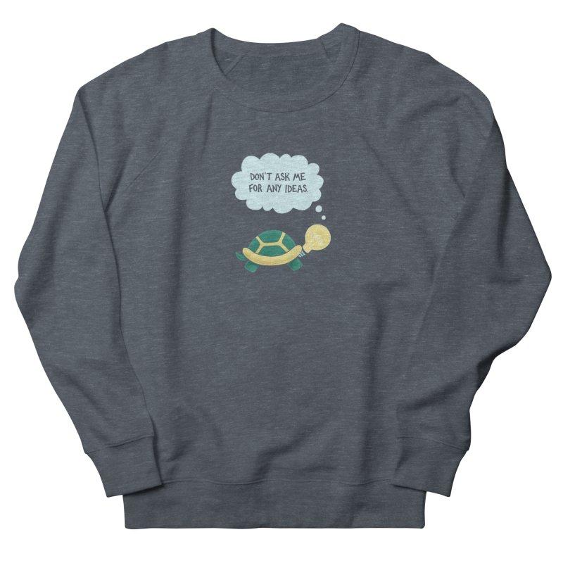 Idea Turtle Men's Sweatshirt by Lupi Art + Illustration