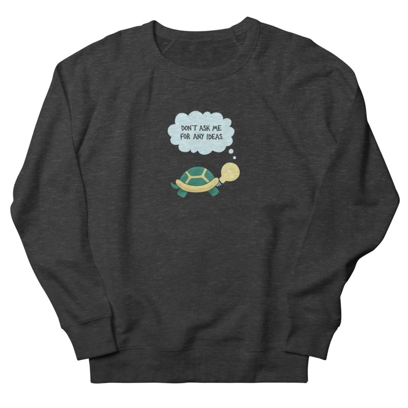 Idea Turtle Men's Sweatshirt by Lupi Art + Illustration