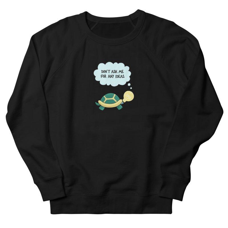 Idea Turtle Men's French Terry Sweatshirt by Lupi Art + Illustration