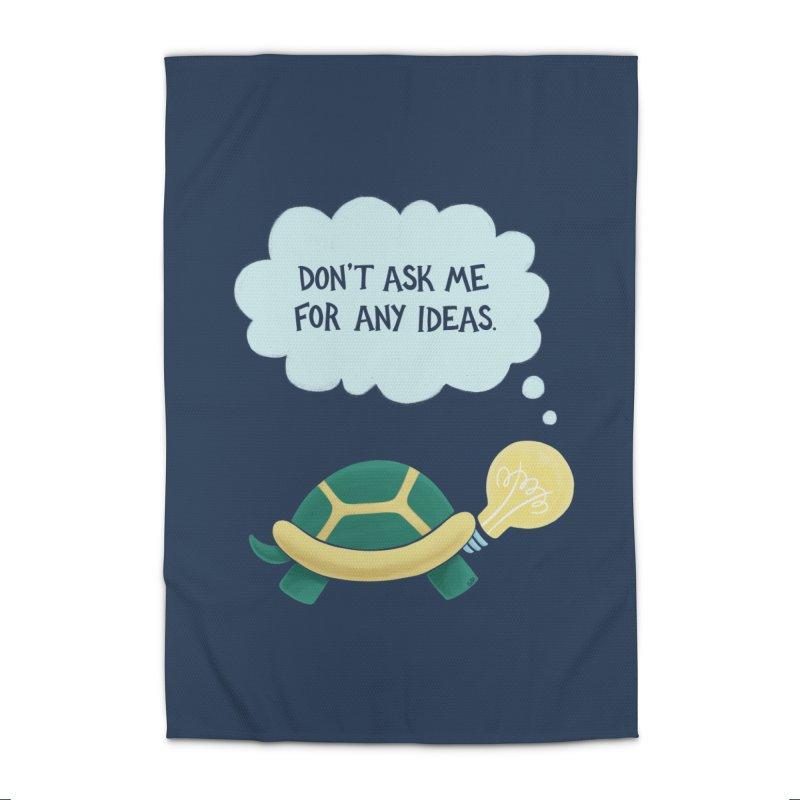 Idea Turtle Home Rug by Lupi Art + Illustration