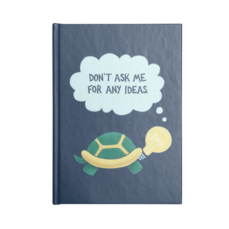 Idea Turtle Accessories Notebook by Lupi Art + Illustration