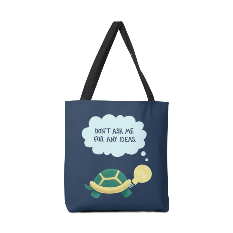 Idea Turtle Accessories Tote Bag Bag by Lupi Art + Illustration