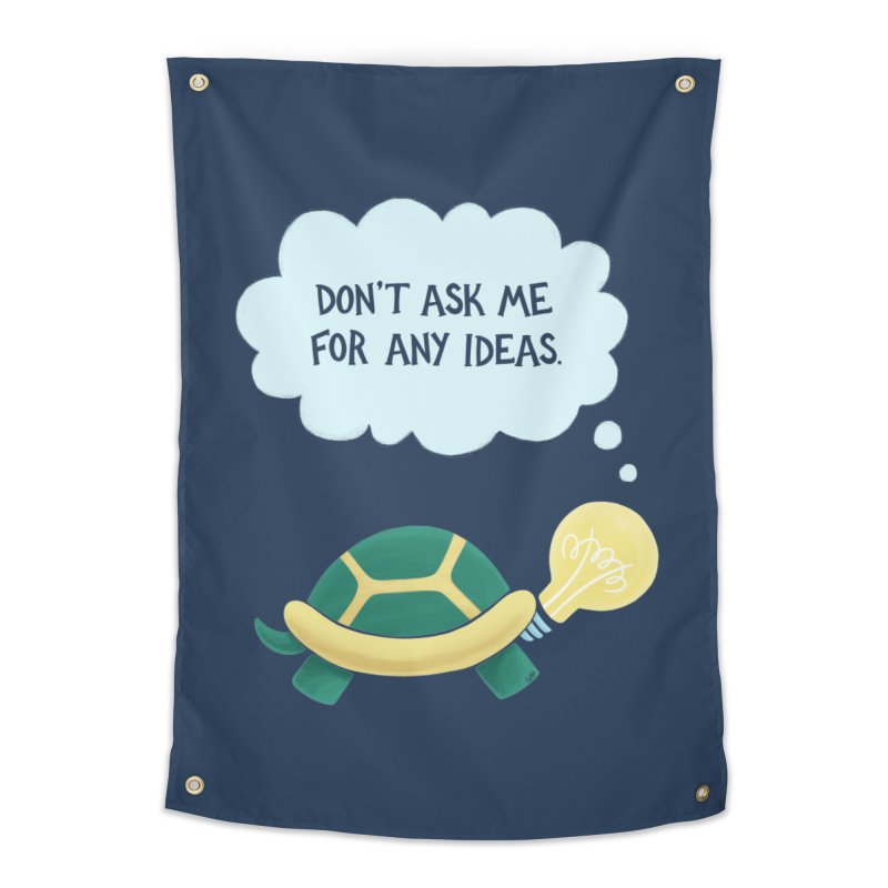 Idea Turtle Home Tapestry by Lupi Art + Illustration