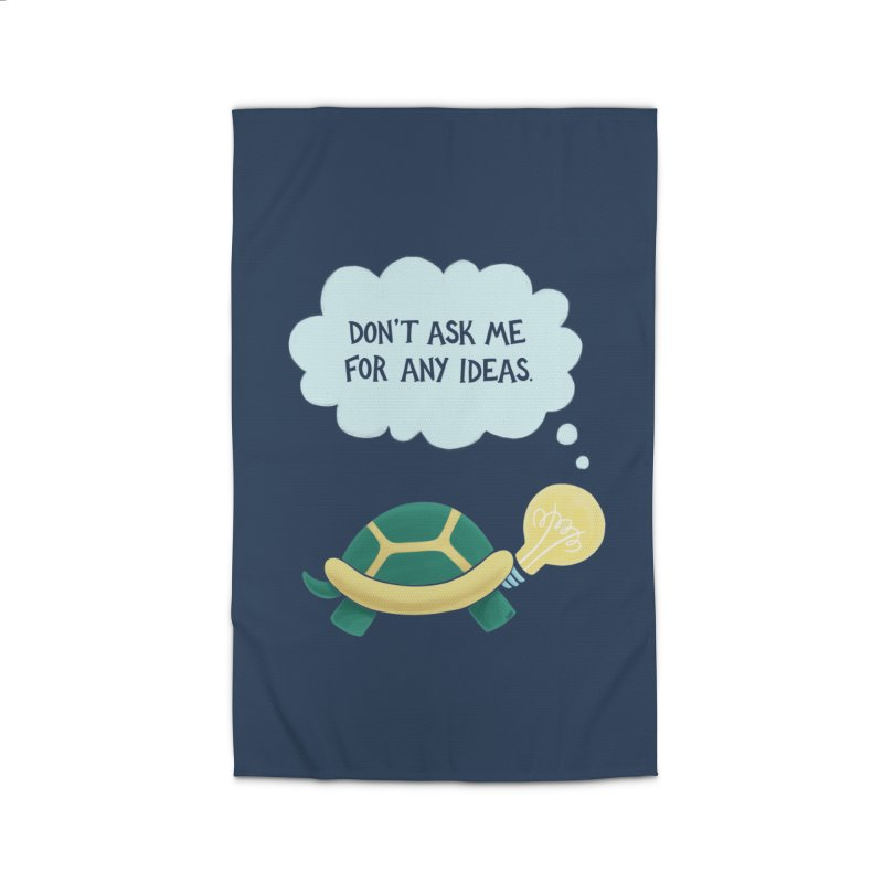 Idea Turtle Home Rug by Lupi Art + Illustration