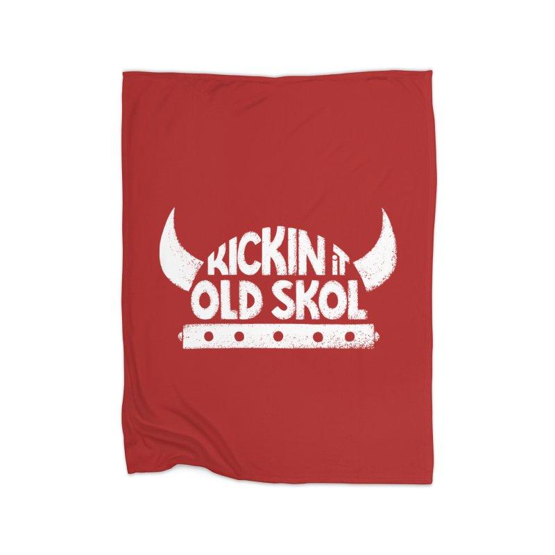 Old Skol Home Blanket by Lupi Art + Illustration