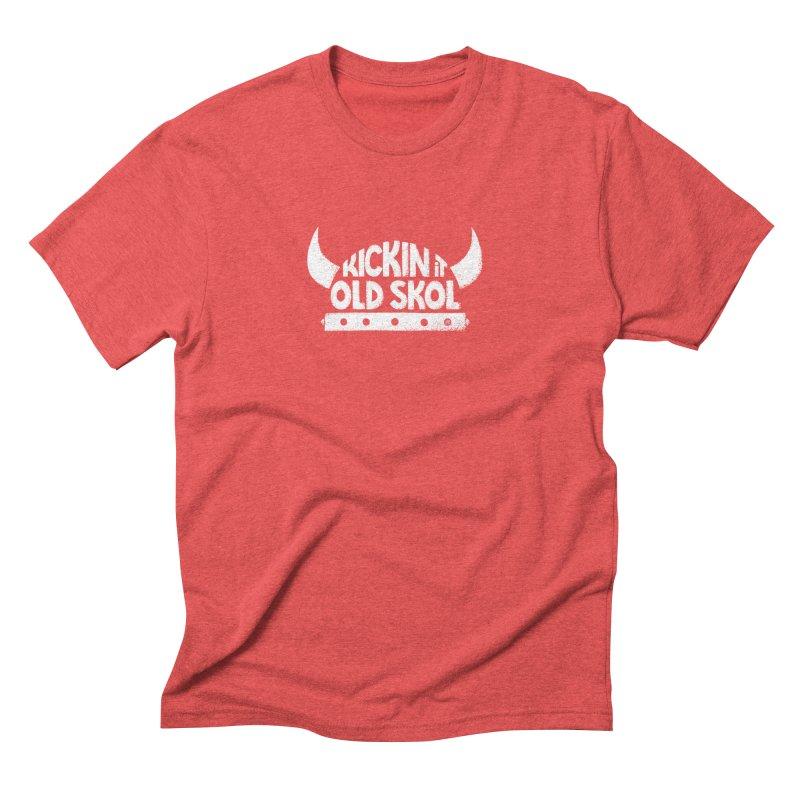 Old Skol Men's Triblend T-shirt by Lupi Art + Illustration