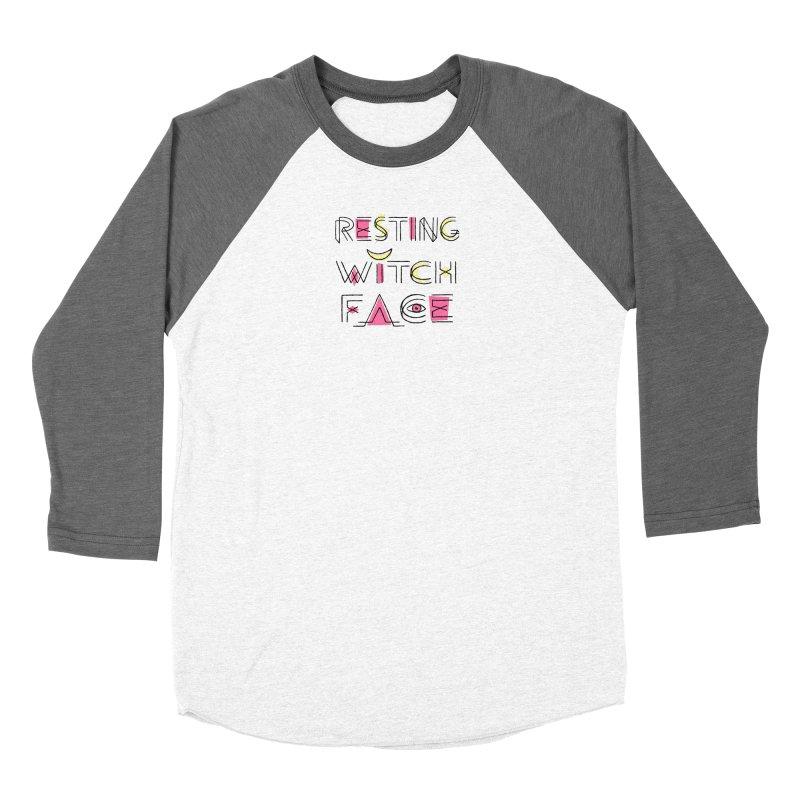 Resting Witch Face Women's Baseball Triblend Longsleeve T-Shirt by Lupi Art + Illustration